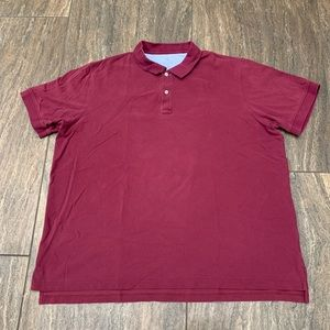 Lands End Traditional Fit polo shirt size 3XL